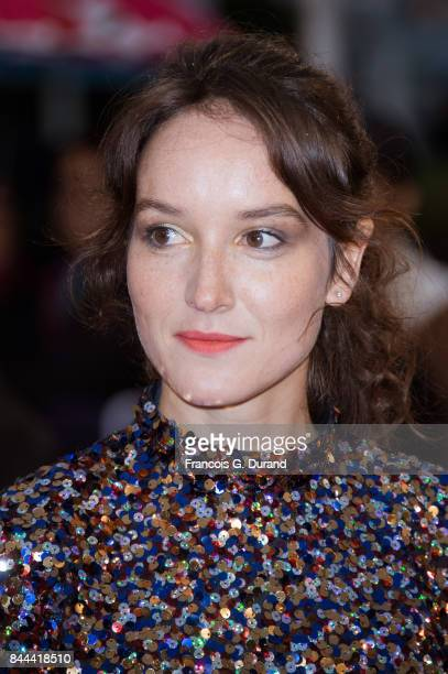 Anais Demoustier arrives at the screening for 'mother' during the 43rd Deauville American Film Festival on September 8 2017 in Deauville France