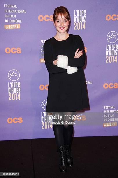 Anais Demoustier attends the 'Situation Amoureuse C'est complique' Premiere as part of the 17th L'Alpe D'Huez International Comedy Film Festival on...