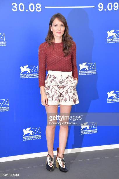 Anais Demoustier attends the 'The House By The Sea ' photocall during the 74th Venice Film Festival at Sala Casino on September 3 2017 in Venice Italy