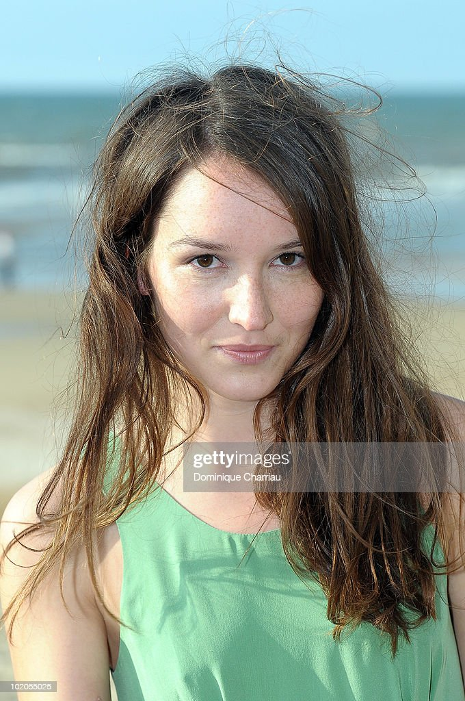 <a gi-track='captionPersonalityLinkClicked' href=/galleries/search?phrase=Anais+Demoustier&family=editorial&specificpeople=5361012 ng-click='$event.stopPropagation()'>Anais Demoustier</a> poses on the beach during the Cabourg Film Festival on June 11, 2010 in Cabourg, France.