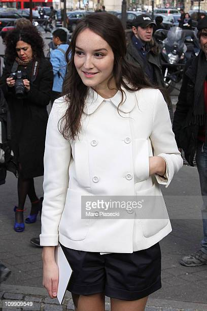 Anais Demoustier sighted on March 9 2011 in Paris France