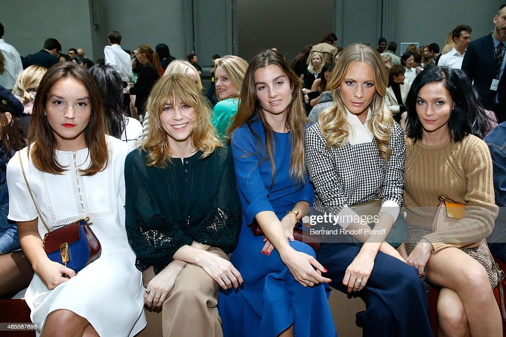 Chloe : Front Row - Paris Fashion Week Womenswear Fall/Winter 2015/2016