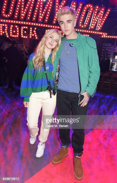 Anais Gallagher and GabrielKane DayLewis attend the Tommy Hilfiger TOMMYNOW Fall 2017 Show during London Fashion Week September 2017 at The...
