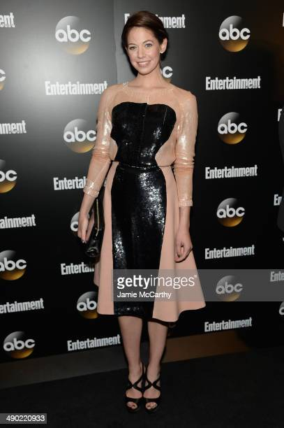 Analeigh Tipton attends the Entertainment Weekly ABC Upfronts Party at Toro on May 13 2014 in New York City