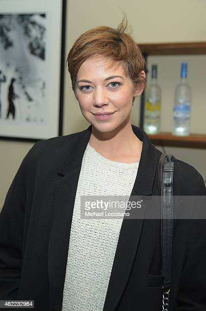 Analeigh Tipton attends the Last Days in the Desert Cast Party at the GREY GOOSE Blue Door at Sundance on January 25 2015 in Park City Utah