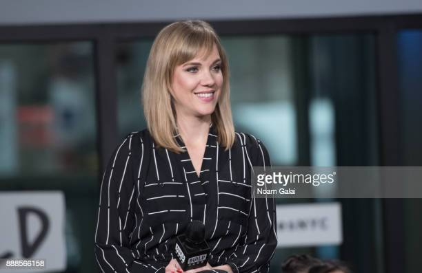 Analisa Leaming visits Build Series to discuss the 2nd anniversary of 'School Of Rock' at Build Studio on December 8 2017 in New York City