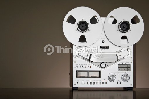 ed59f13e5544 Analog Audio Stereo Reel Tape Recorder Vintage Stock Photo | Thinkstock