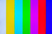 Analog TV Pattern.