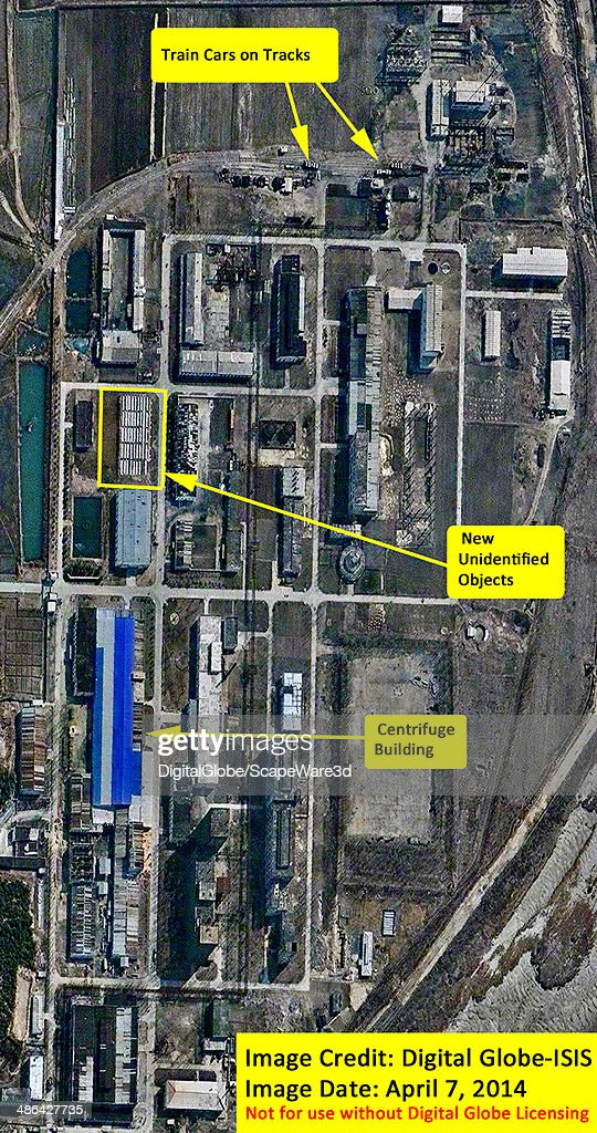 ISIS analysis of Digital Globe Imagery showing the status of North Korea's Yongbyon Fuel Fabrication Complex and Uranium Centrifuge Plant on April 7...