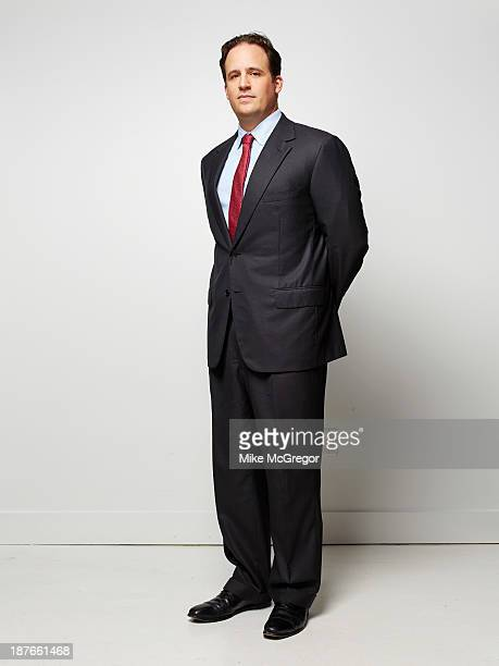 Analyst for Morgan Stanley Ben Swinburne is photographed for Institutional Investor Magazine on September 12 2013 in New York City