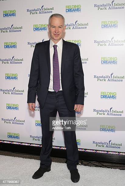 ESPN analyst John McEnroe attends the 2014 Fielding Dreams gala at American Museum of Natural History on March 11 2014 in New York City