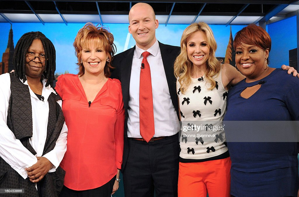 """THE VIEW - (airs 2.1.13) ESPN analyst Tim Hasselbeck, husband to """"The View"""" co-host Elisabeth Hasselbeck, guest co-hosts """"Guy Day Friday""""; """"Real Housewives'"""" Lisa Vanderpump (""""Vanderpump Rules""""), Stassi Schroeder and Schaeana Marie; gearing up for the Super Bowl.on 'The View.' 'The View' airs Monday-Friday (11:00 am-12:00 pm, ET) on the ABC Television Network. SHEPHERD"""