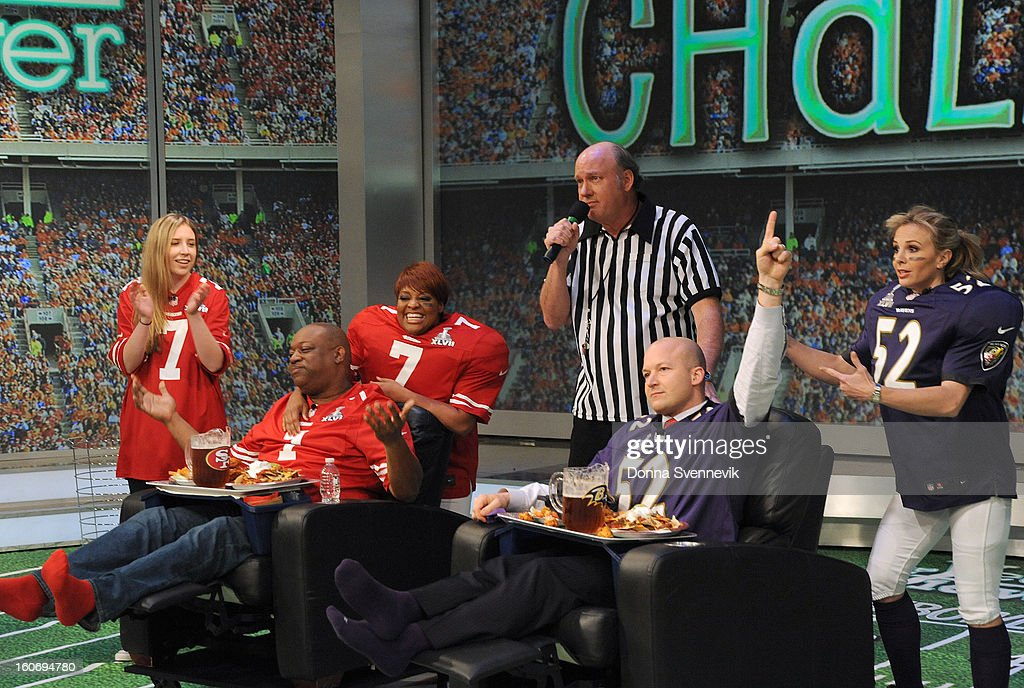 """THE VIEW - (airs 2.1.13) ESPN analyst Tim Hasselbeck, husband to """"The View"""" co-host Elisabeth Hasselbeck, guest co-hosts """"Guy Day Friday""""; """"Real Housewives'"""" Lisa Vanderpump (""""Vanderpump Rules""""), Stassi Schroeder and Schaeana Marie; gearing up for the Super Bowl.on 'The View.' 'The View' airs Monday-Friday (11:00 am-12:00 pm, ET) on the ABC Television Network. HASSELBECK"""