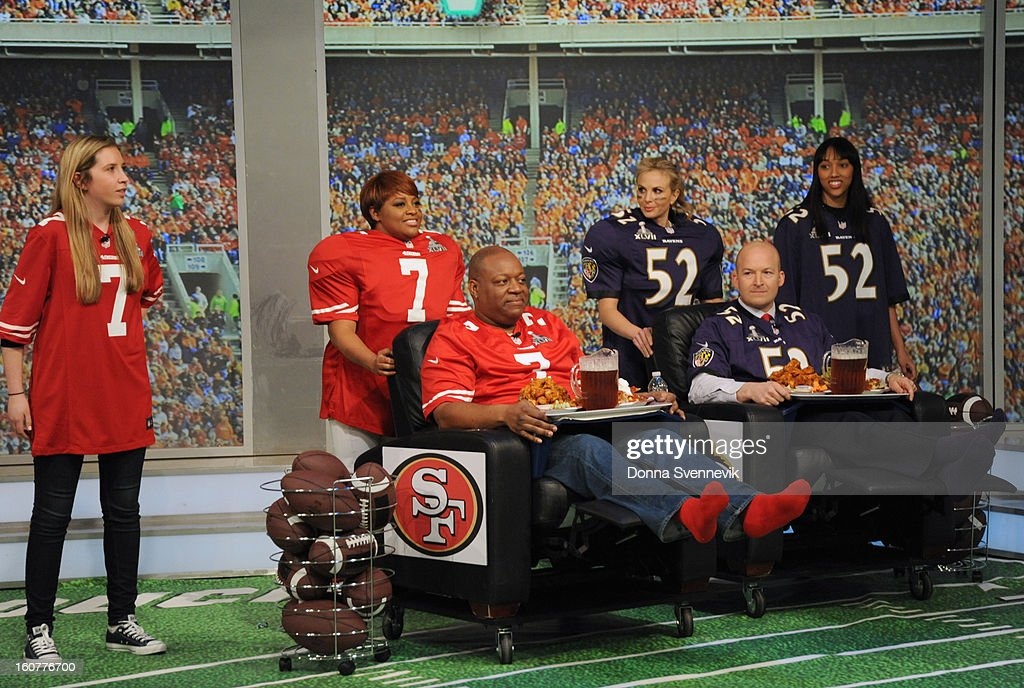 """THE VIEW - (airs 2.1.13) ESPN analyst Tim Hasselbeck, husband to """"The View"""" co-host Elisabeth Hasselbeck, guest co-hosts """"Guy Day Friday""""; """"Real Housewives'"""" Lisa Vanderpump (""""Vanderpump Rules""""), Stassi Schroeder and Schaeana Marie; gearing up for the Super Bowl.on 'The View.' 'The View' airs Monday-Friday (11:00 am-12:00 pm, ET) on the ABC Television Network. HOLMES"""
