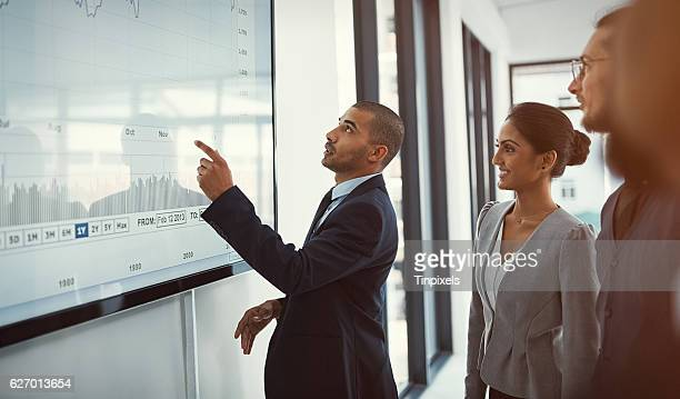 Analyzing all the data to make an informed decision
