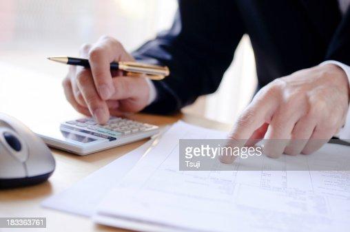 Analyzing invoice