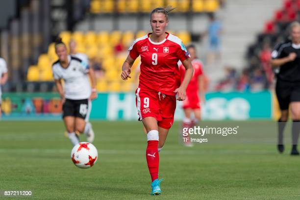 AnaMaria Crnogoreevic of Switzerland controls the ball during the Group C match between Austria and Switzerland during the UEFA Women's Euro 2017 at...