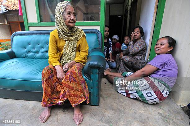 Anami performs her daily chores at the home she shares with her family on May 17 2015 in Purwakarta West Java Indonesia THE FAMILY of a woman in...