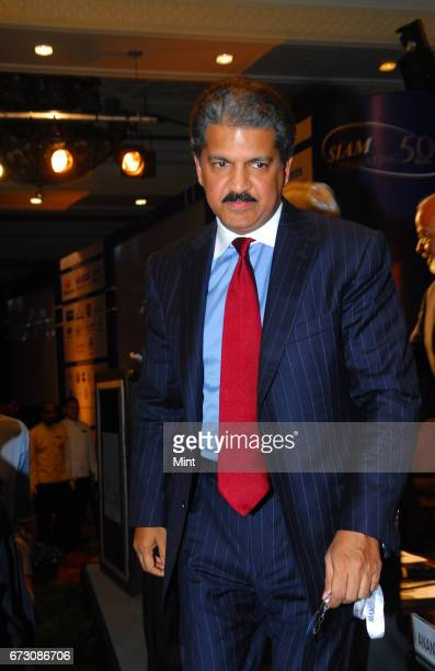 Anand G Mahindra Vice Chairman of Mahindra Mahindra photographed during SIAM 50th annual convention 2010