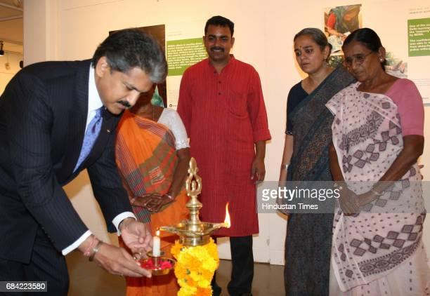 Anand Mahindra at the Photography exhibition at Hands of Hope at the NCPA at Nariman Point