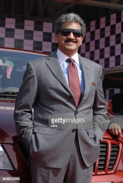 Anand Mahindra Vice president of Mahindra Mahindra Auto during the launch of the New Mahindra Xylo at the company's plant in Nashik
