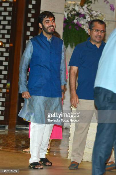 Anant Ambani during the party organised to celebrate Mumbai Indians victory in the Indian Premier League 2017 in Mumbai