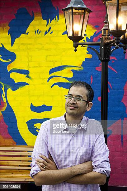 Ananth Narayanan chief executive officer of Myntracom a unit of Flipkart Internet Services Pvt poses for a portrait at the company's office in...
