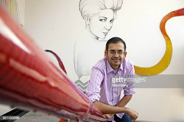 Ananth Narayanan chief executive officer of Myntracom a unit of Flipkart Internet Services Pvt poses for a photograph at the company's office in...