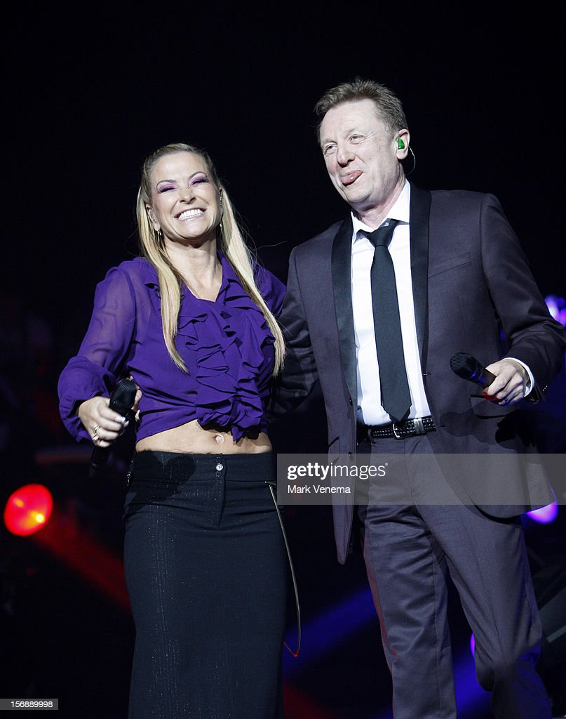 Anastacia and <a gi-track='captionPersonalityLinkClicked' href=/galleries/search?phrase=John+Miles&family=editorial&specificpeople=93614 ng-click='$event.stopPropagation()'>John Miles</a> perform at Night Of The Proms at Ahoy on November 23, 2012 in Rotterdam, Netherlands.