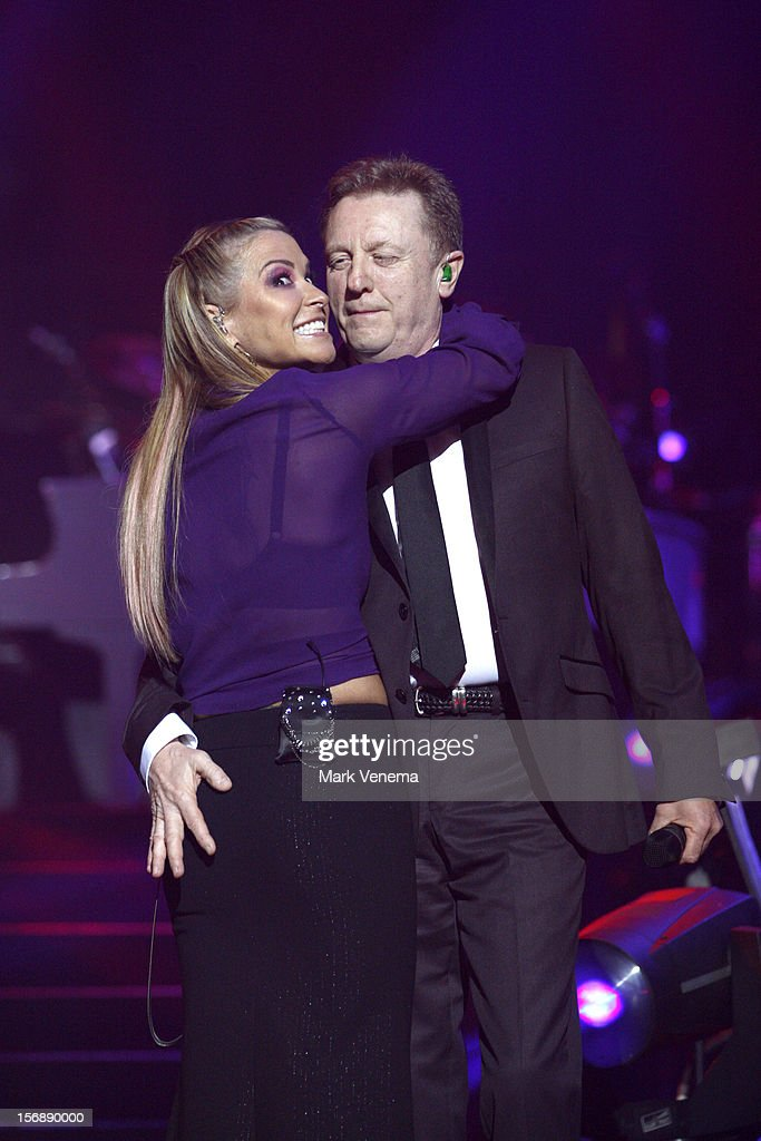Anastacia and John Miles perform at Night Of The Proms at Ahoy on November 23, 2012 in Rotterdam, Netherlands.