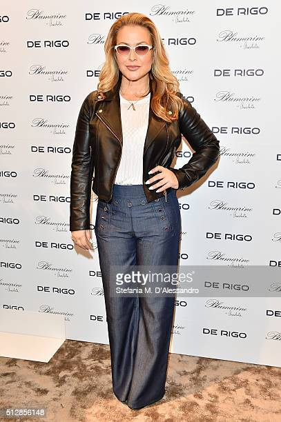 Anastacia attends MIDO 2016 the Milano Eyewear Show during Milan Fashion Week FW16 on February 28 2016 in Milan Italy
