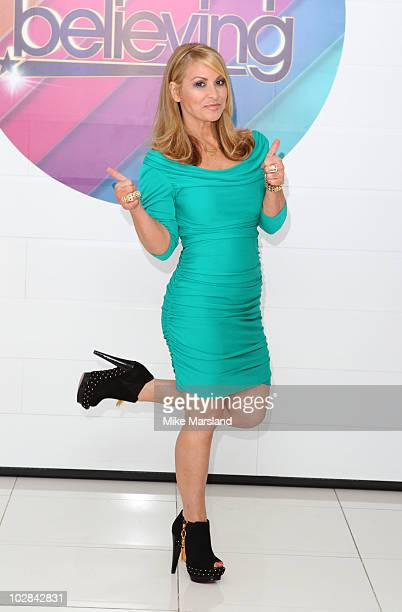 Anastacia attends photocall to launch new TV talent contest 'Don't Stop Believing' on July 13 2010 in London England