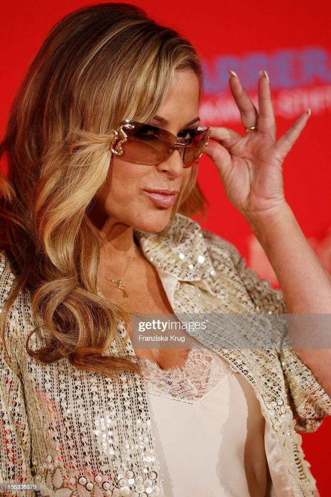 Anastacia attends the 18th Annual Jose Carreras Gala on December 13, 2012 in Leipzig, Germany.