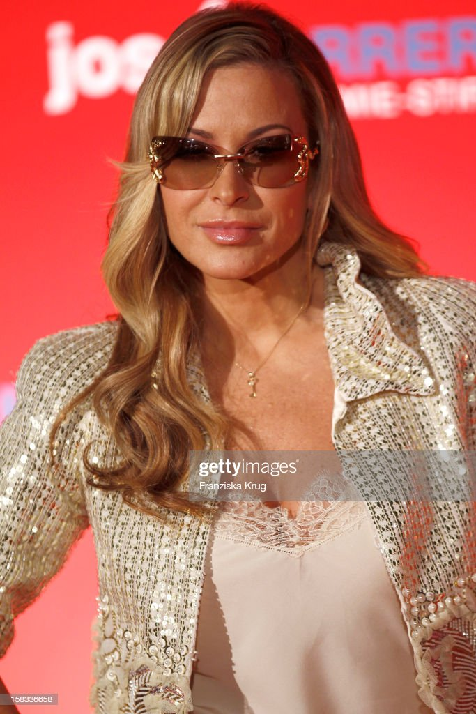 Anastacia attends the 18th Annual Jose Carreras Gala on December 13 2012 in Leipzig Germany