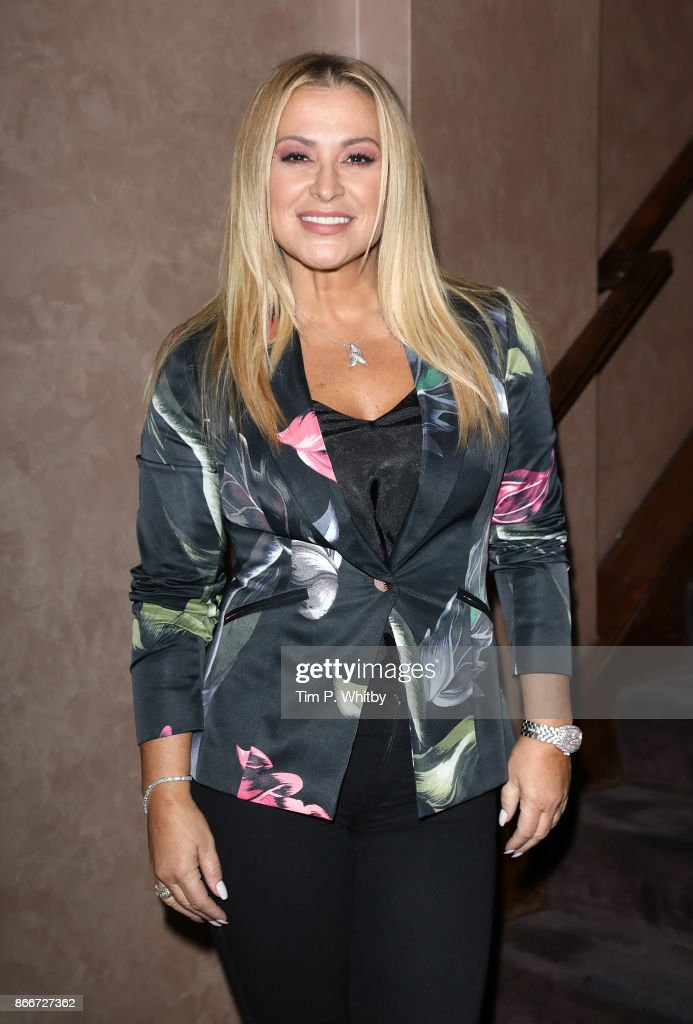 Anastacia attends the Anastacia x Arctic Circle Diamond launch party held at Sanctum Soho Hotel on October 26, 2017 in London, England. The event launched a new bracelet by Arctic Circle to raise money for Cancer Research UK.