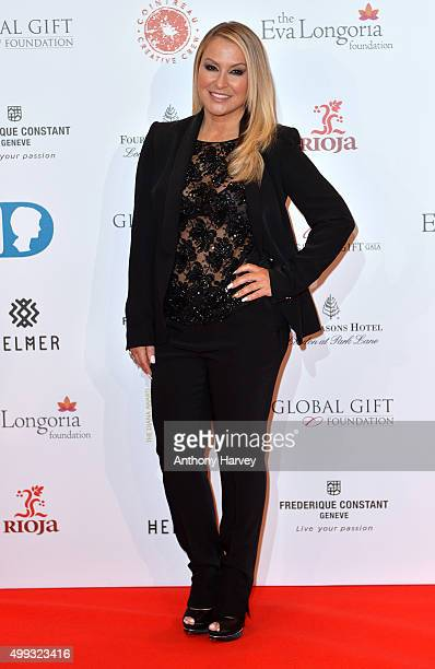 Anastacia attends The Global Gift Gala at Four Seasons Hotel on November 30 2015 in London England
