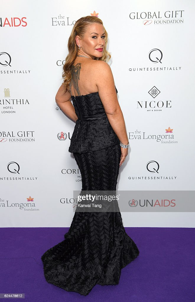 Anastacia attends the Global Gift Gala in partnership with Quintessentially on November 19, 2016 at the Corithinia Hotel in London, United Kingdom.