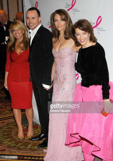 Anastacia David Furnish Elizabeth Hurley and Evelyn Lauder