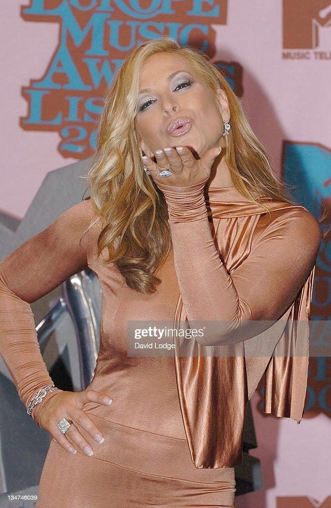 2005 MTV European Music Awards Lisbon - Press Room