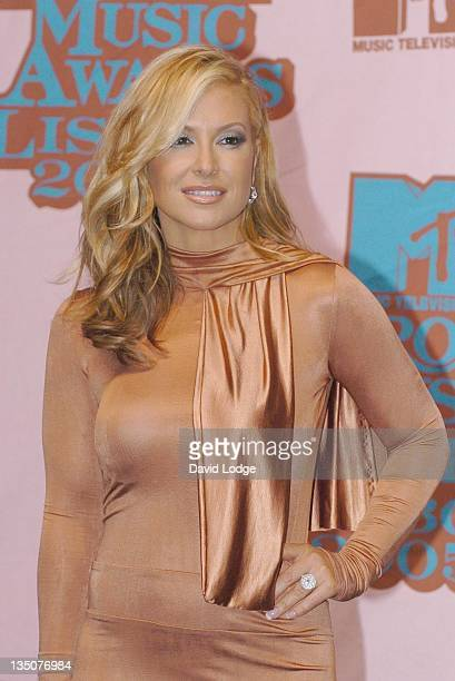 Anastacia during 2005 MTV European Music Awards Lisbon Press Room at Atlantic Pavillion in Lisbon Portugal