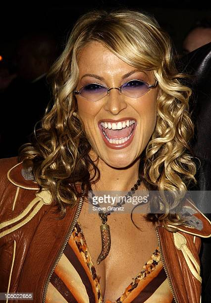Anastacia during 'Chicago' Premiere in Los Angeles at The Academy in Beverly Hills California United States