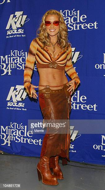 Anastacia during KTU's 'Miracle on 34th Street' at Madison Square Garden in New York City New York United States