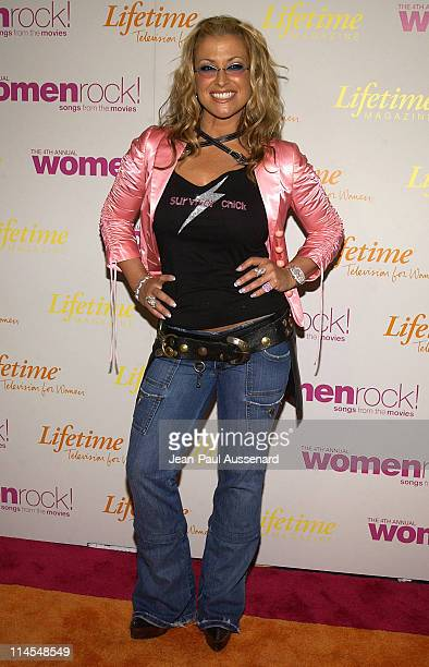 Anastacia during The 4th Annual Women Rock Songs From The Movies Arrivals at Kodak Theater in Hollywood California United States