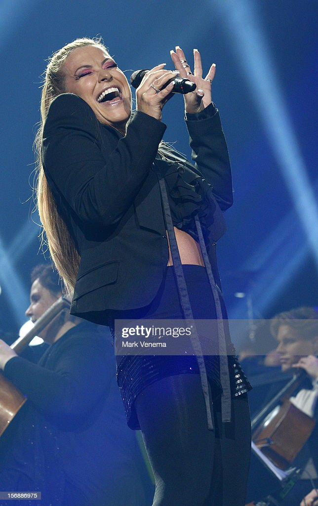 Anastacia performs at Night Of The Proms at Ahoy on November 23, 2012 in Rotterdam, Netherlands.