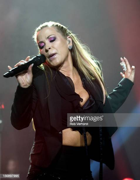 Anastacia performs on stage at the Night Of The Proms Concert at Ahoy on November 23 2012 in Rotterdam Netherlands