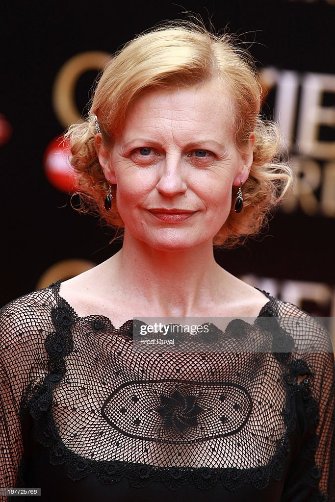 Anastashia Hille attends The Laurence Olivier Awards at The Royal Opera House on April 28, 2013 in London, England.