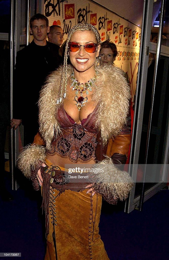 Anastasia, Brit Awards 2002 At Earls Court, London