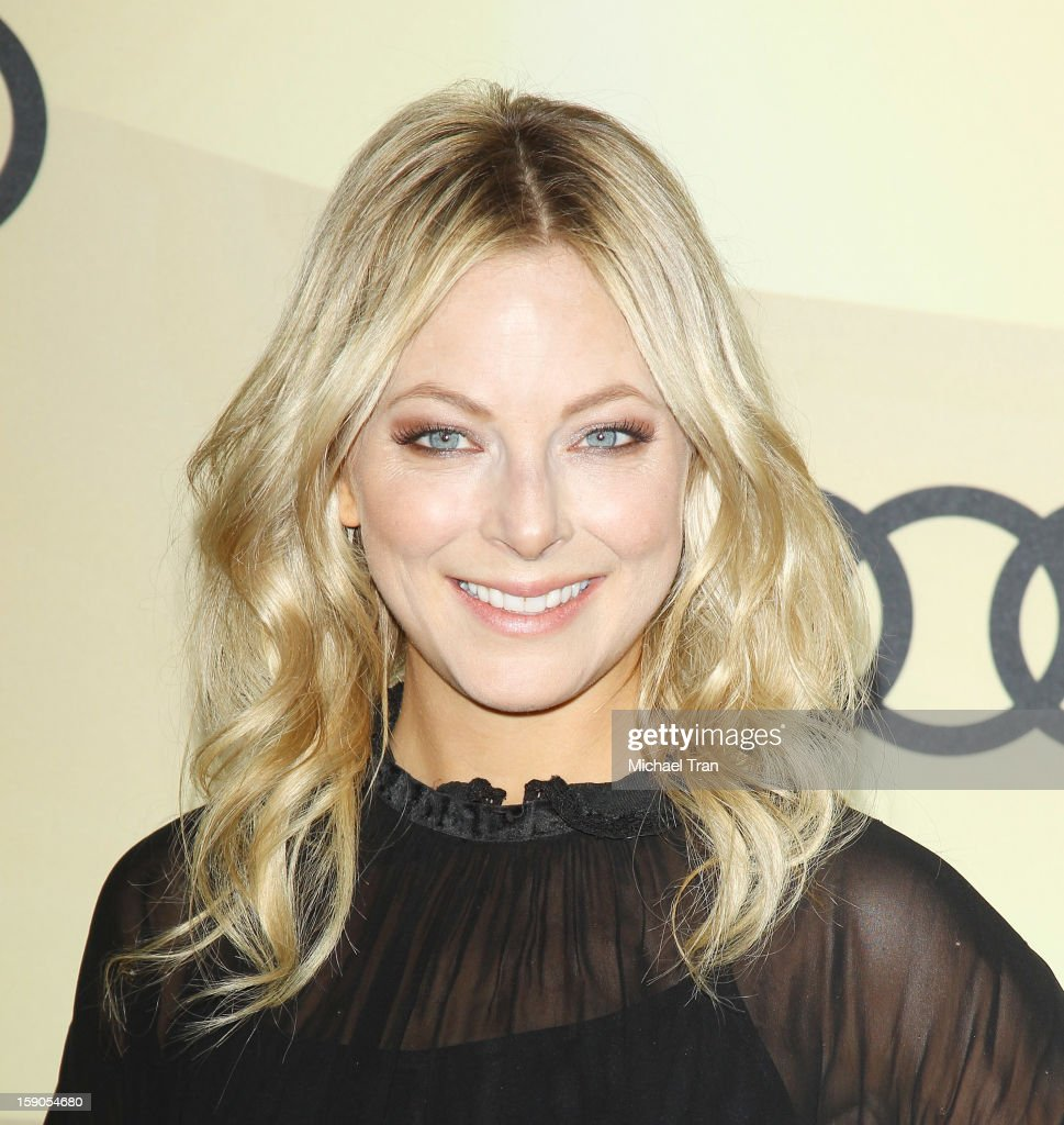 Anastasia Griffith arrives at the Audi Golden Globe 2013 kick off cocktail party held at Cecconi's Restaurant on January 6, 2013 in Los Angeles, California.