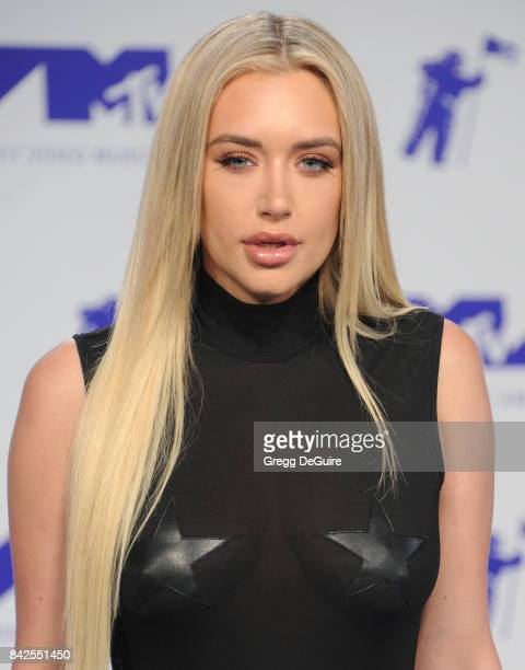 Anastasia Karanikolaou arrives at the 2017 MTV Video Music Awards at The Forum on August 27 2017 in Inglewood California