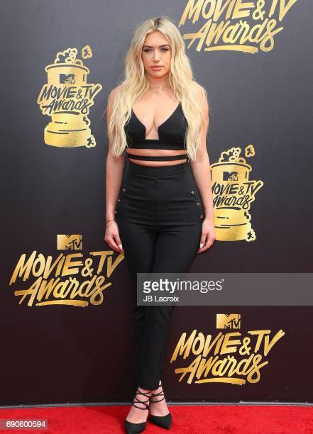 Anastasia Karanikolaou attends the 2017 MTV Movie and TV Awards at The Shrine Auditorium on May 7 2017 in Los Angeles California